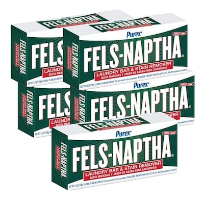Fels-Naptha Dial Laundry Soap (Pack of 5)