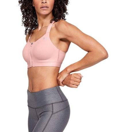 Under Armour Women's Eclipse Zip Sports Bra