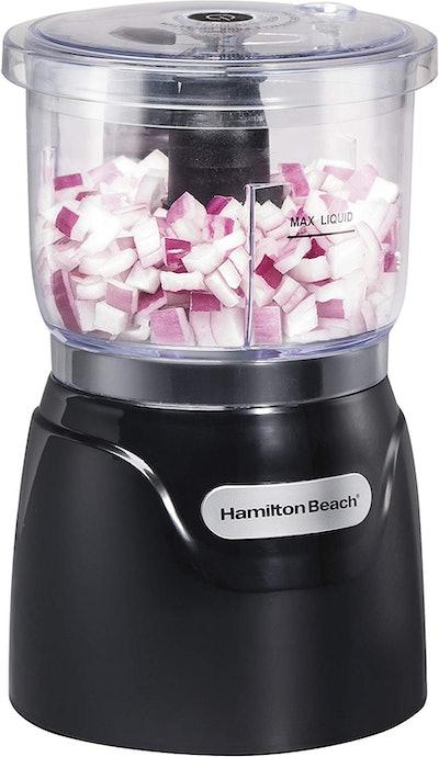Hamilton Beach Stack & Press 3 Cup Chopper