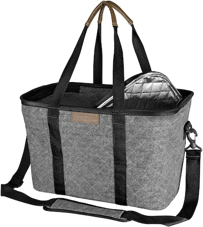 CleverMade SnapBasket Thermo LUXE Tote