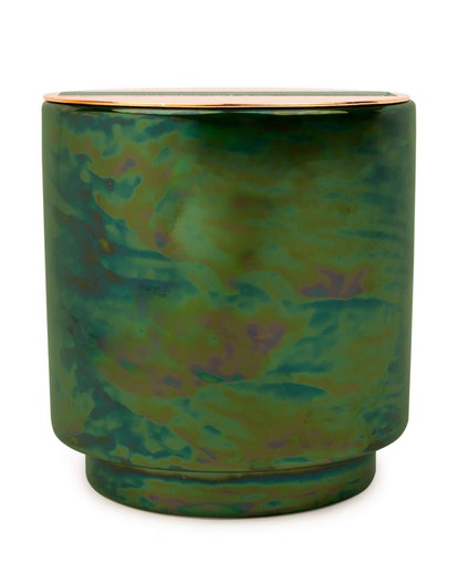 Balsam & Eucalyptus Iridescent Ceramic Candle
