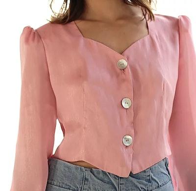 Nadia Silk blouse