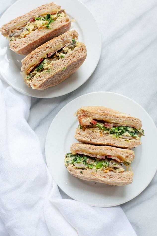 Meal prep breakfast sandwiches that are easy and make-ahead.