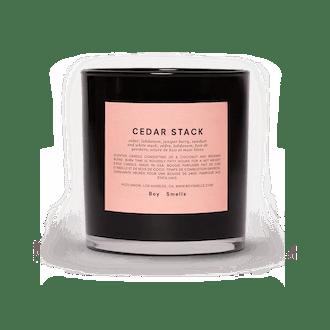 Cedar Stack Candle
