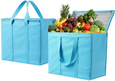 VENO Bag Insulated Reusable Grocery Bag (2-Pack)