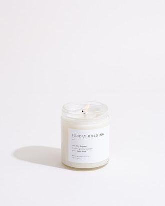 Sunday Morning Minimalist Candle