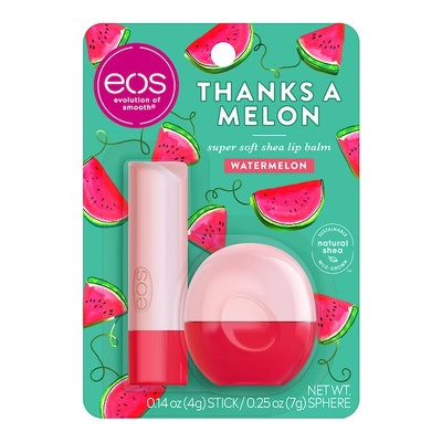 Spring Notes Thanks A Melon 2-Pack Lip Balm Stick & Sphere Set