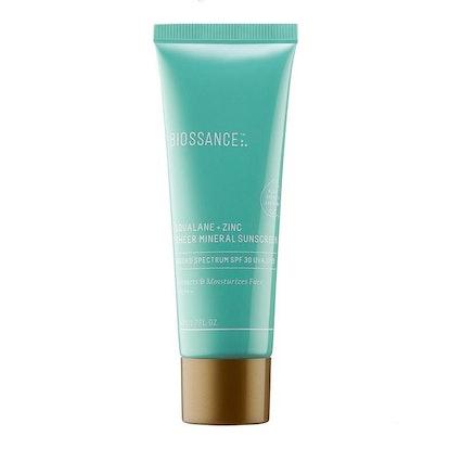 Squalane + Zinc Sheer Mineral Sunscreen SPF 30 PA +++