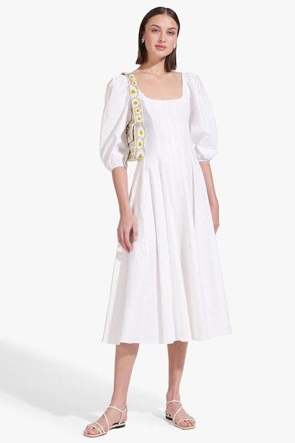 Swells Dress White