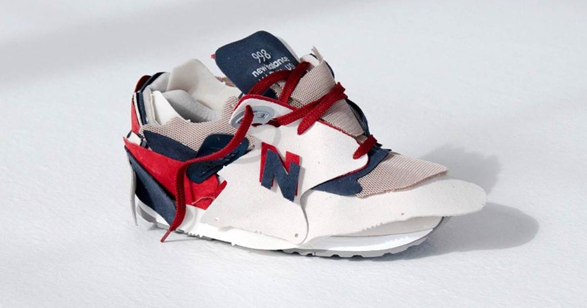 New Balance made 100 one-of-a-kind sneakers with 'excess' materials, and they sold out in minutes