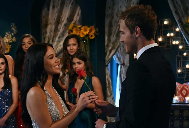 SYDNEY and PETER WEBER on 'The Bachelor'