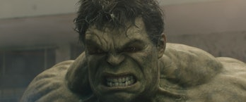 Mark Ruffalo, in his complete post-production appearance as the Hulk, in 'Avengers: Age of Ultron' (2015).