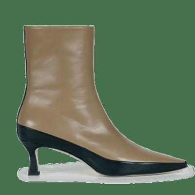 Bente Ankle Boot Khaki Black