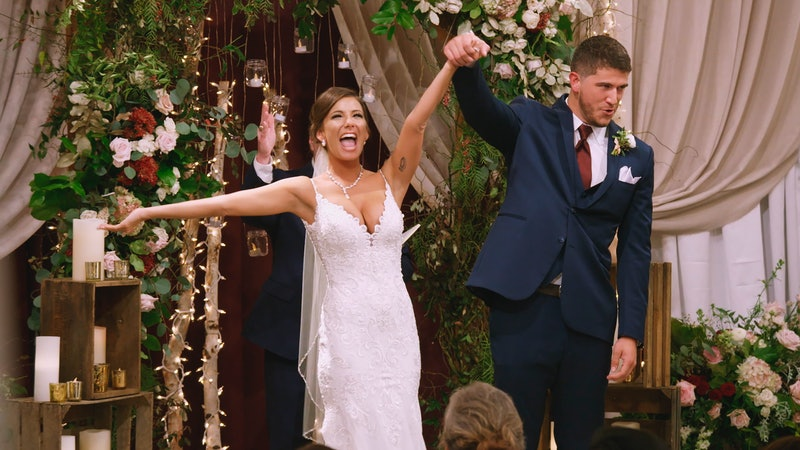 Amber and Barnett getting married on Love is Blind.