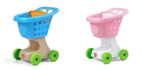 A children's toy shopping cart has been recalled by the toymaker due to safety concerns.