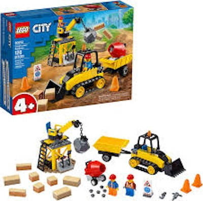 LEGO Construction Bulldozer Set