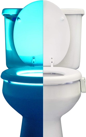 RainBowl Toilet Bowl Night Light with Motion Sensor