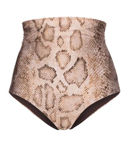 Bobbi Snake Print Bikini Bottoms