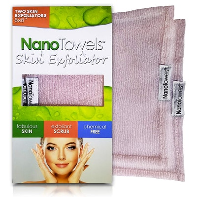 Life Miracle Nano Towels Skin Exfoliating Cleansers (2-Pack)