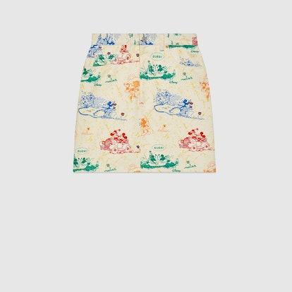Disney x Gucci Cotton Drill Skirt