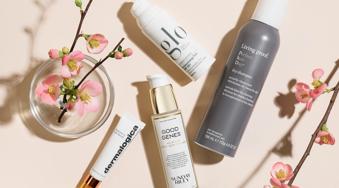 Dermstore's Beauty Refresh Sale Means 20 Percent Off Sunday Riley, Living Proof, Dermalogica, and Glo