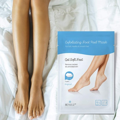 BeaLuz Exfoliating Foot Peel Mask (2-Pairs)