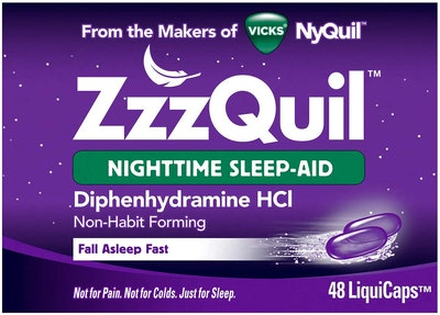 ZzzQuil Nighttime Sleep Aid (48 Count)