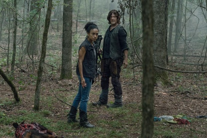 Lauren Ridloff as Connie and Norman Reedus as Daryl Dixon in The Walking Dead