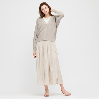 Relaxed V-Neck Cardigan