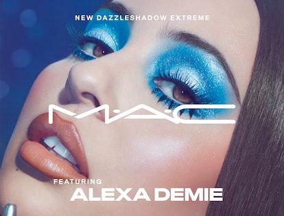 MAC x Alexa Demie debuts a new eyeshadow formula.