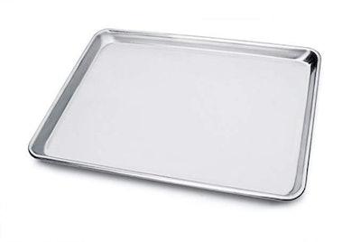 New Star Foodservice 18-Gauge Aluminum Sheet Pan (Half-Size)