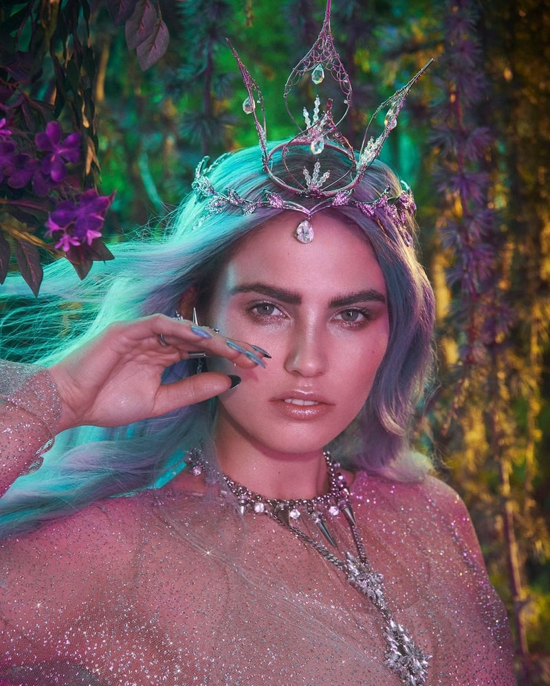Lime Crime just launched its Fairy Garden collection and it's so pastel