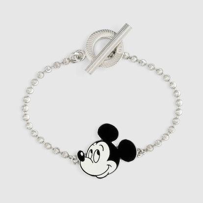 Disney x Gucci Silver Bracelet