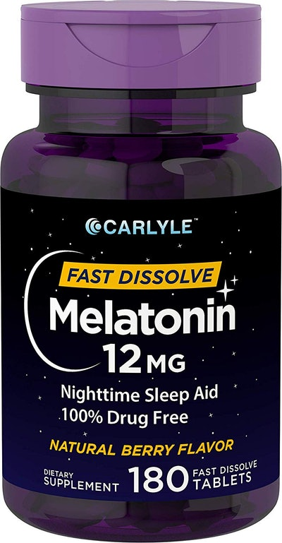 Carlyle Fast Dissolve Melatonin (180 Count)
