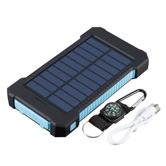Waterproof 18000 Mah Solar Power Bank
