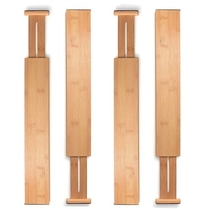 Bambusi Bamboo Drawer Dividers