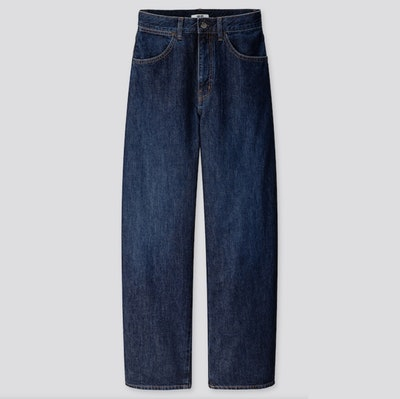 U Wide-Fit Curved Jeans
