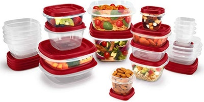 Rubbermaid Easy Find Vented Lids Food Storage Containers (42-Piece)