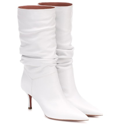 Ida 70 Leather Ankle Boots