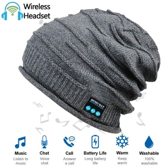 ADEAVE Beanie Hat with Bluetooth Headphones