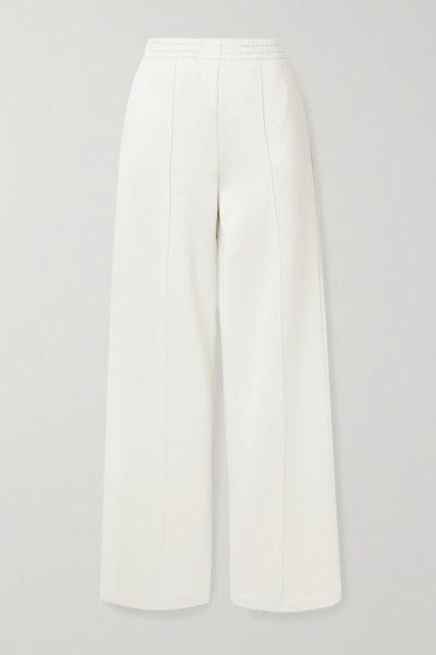 Stretch-Jersey Wide-Leg Pants