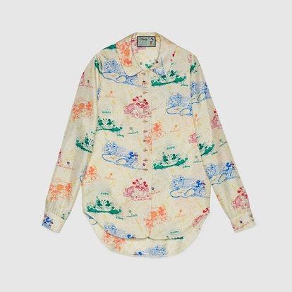 Disney x Gucci Silk Shirt