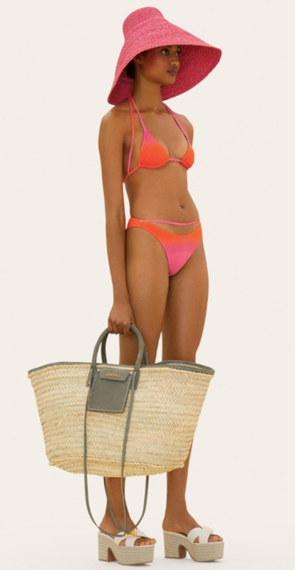 Straped Bikini Swimsuit