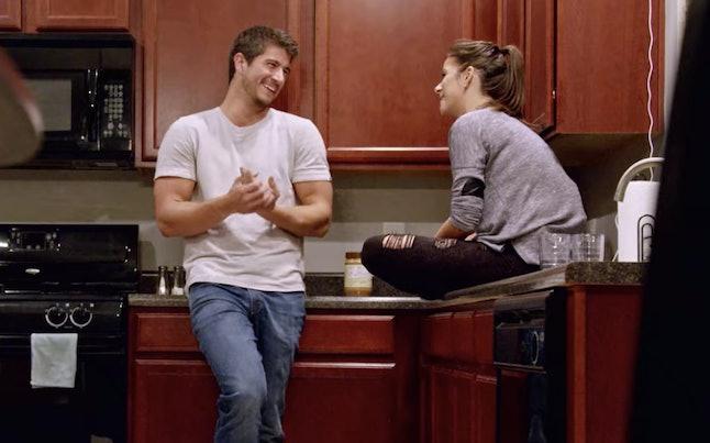 Amber and Barnett on Love is Blind.