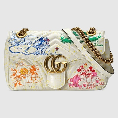 Online Exclusive Disney x Gucci GG Marmont Small Shoulder Bag