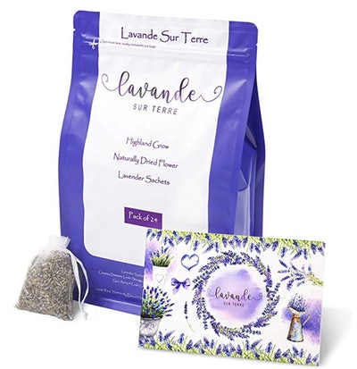 Lavender Sachets For Dressers And Drawers (24-Pack)