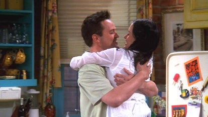 NBC Friend's monica and chandler decide to move in together.