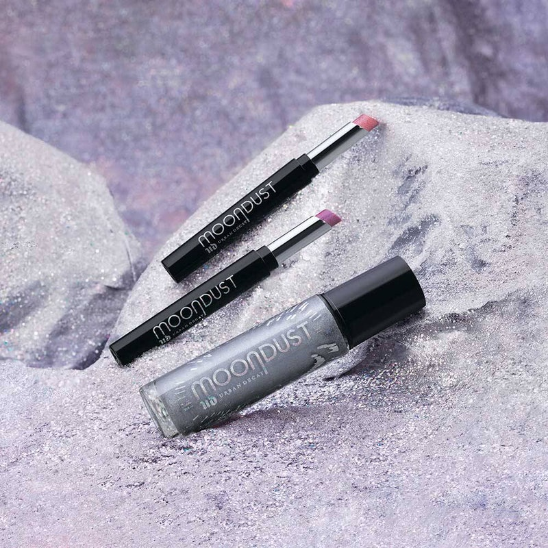 Urban Decay just expanded its Moondust collection to include a full-body Liquid Glitter and lipsticks