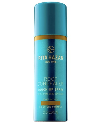 Root Concealer Touch-Up Spray Temporary Gray Coverage in Dark Blond