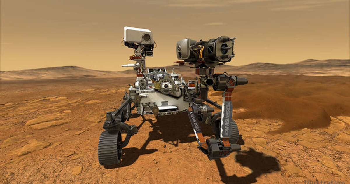 New photo: NASA Mars rover image shows just how large the six-wheeler is compared to a person
